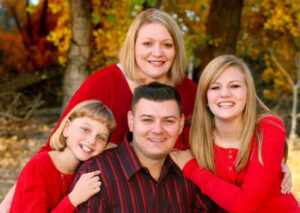 Attorney D. Zane Swank and his family